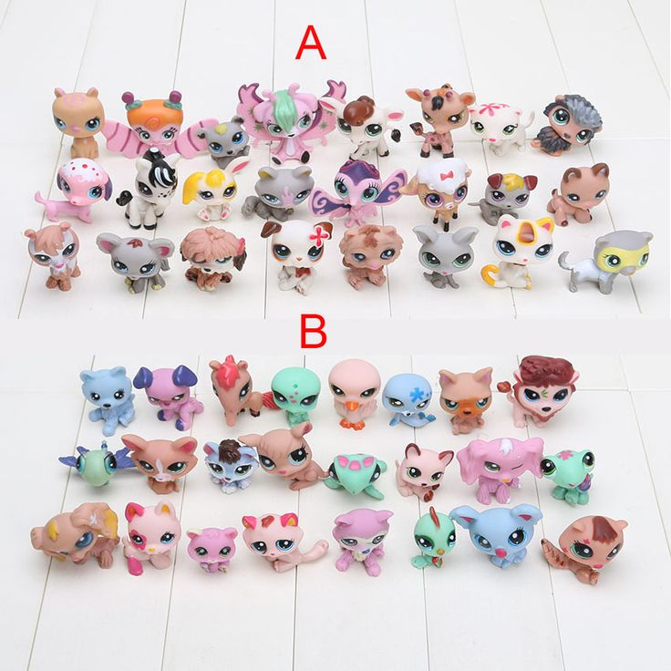 24 pcs/set Littlest Pet Shop toys