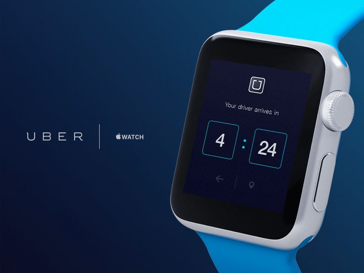 Uber for apple watch
