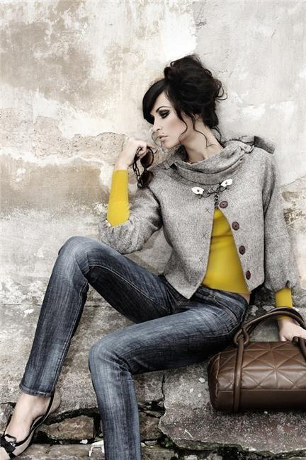 Autumn- Oksana Tocickaja: Colors Combos, Fashion, Fall Style, Oksana Tocickaja, Chic Street Style, Colors Mixed, Outfit, Jackets, Mustard Yellow