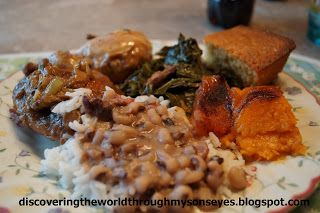 Discovering The World Through My Son's Eyes: Traditional Southern New Years Day Dinner
