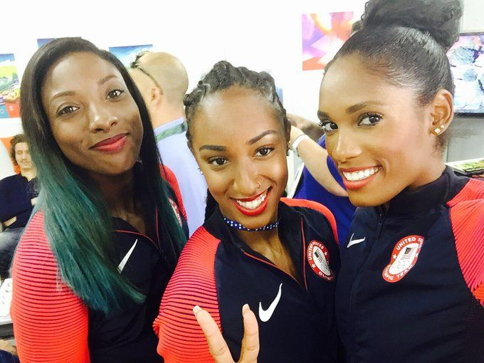 Team usa stars brianna rollins, nia ali and kristi castlin talk ...
