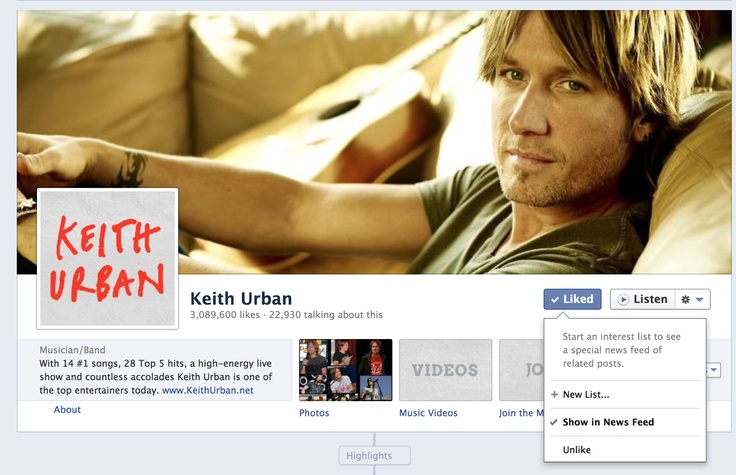 Make sure you never miss an update from Keith! http://www.keithurban.net/mailing-list