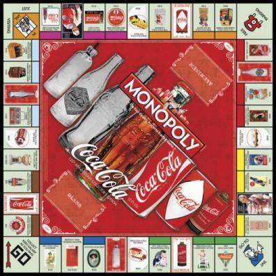 MONOPOLY: Coca-Cola 125th Anniversary Collector's Edition | USAopoly