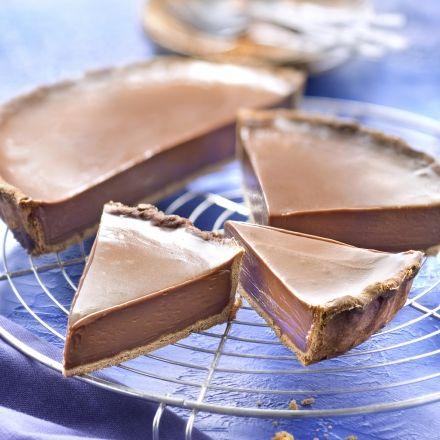 Tarte au chocolat avec Poulain Dessert® Noir Extra au Carambar