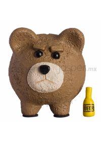 Alcancía cerdito de cerámica - Ted