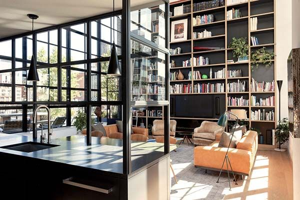 West Chelsea Penthouse-Studio Mellone-01-1 Kindesign