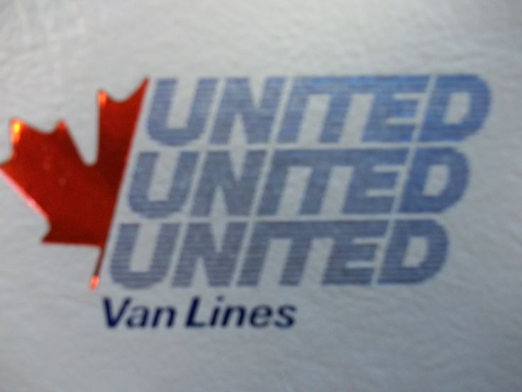 In 1976, United Van Lines (Canada) Ltd.'s logo had to be adapted to fit the Canadian identity and the half Maple Leaf was added giving it a distinctive Canadian look.