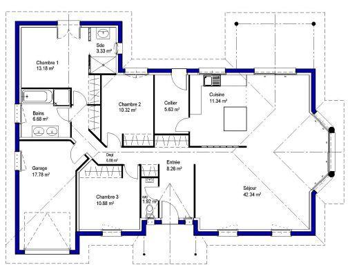 32 best plan images on Pinterest Modern townhouse, Mouths and Blog - logiciel de dessin de maison