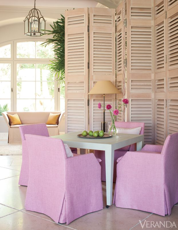 well lived palm springs home interior design by john saladino - Dining Room Inspiration