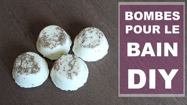 ♡DIY: Bombes pour de bain à la lavande♡ (sans acide citrique)