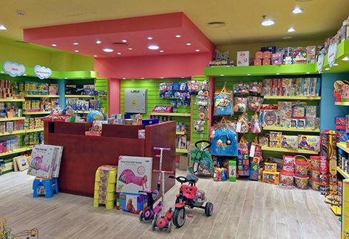 Diseño de locales para juguetería – Giro Didáctico – Unicenter – BM Arquitectura