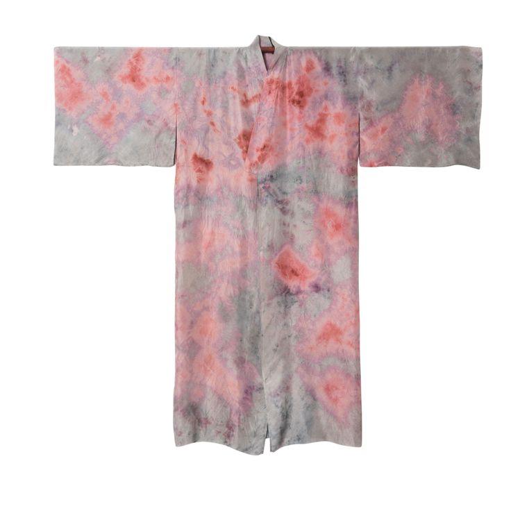 DECAY KIMONO #147  #plantdye #organicdye #naturaldye #bundledye #kimono #fashion