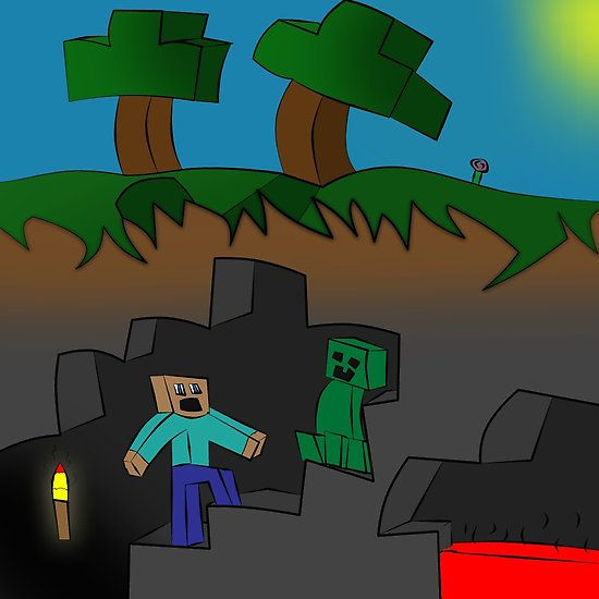 258 best minecraft posters images on pinterest minecraft posters photographic prints and - Minecraft creeper and steve ...