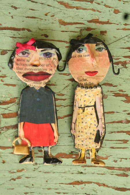 Julie Arkell brooches