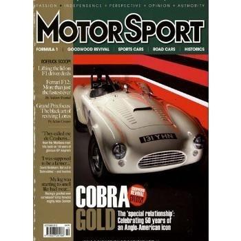 MOTOR SPORT läßt mit atmosphärischen Rennberichten, atemberaubenden Fotos aus den Motorsportanfängen bis zur Neuzeit die klassischen Rennwagen wieder neu aufleben.
