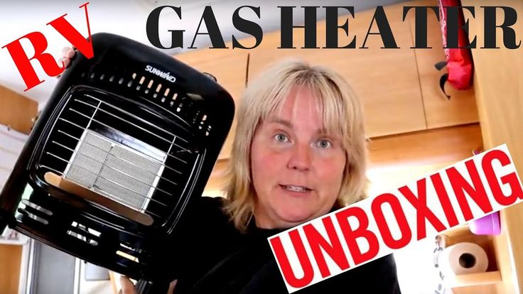 RV gas heater UNBOXING of a Miniflame