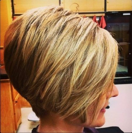angled stacked bob haircut pictures  Right Choice for For You