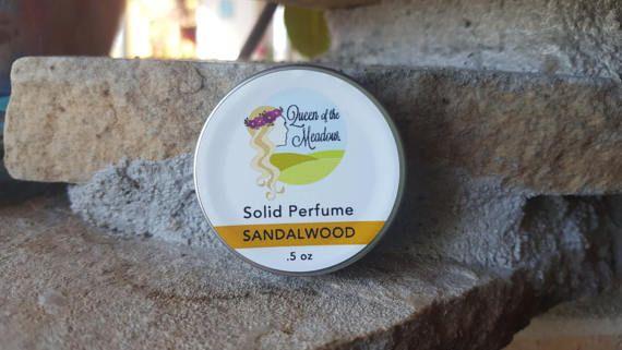 Sandalwood Perfume solid perfume natural perfume organic