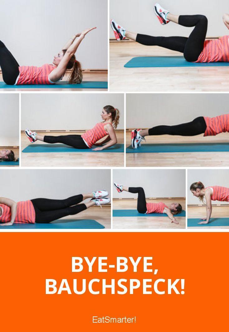 Schnell abnehmen: 8 Übungen für einen flachen Bauch. Bye-bye, Bauchspeck! | eatsmarter.de