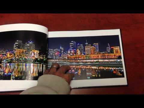 Melbourne at Night Book - Quick Mini Preview - YouTube