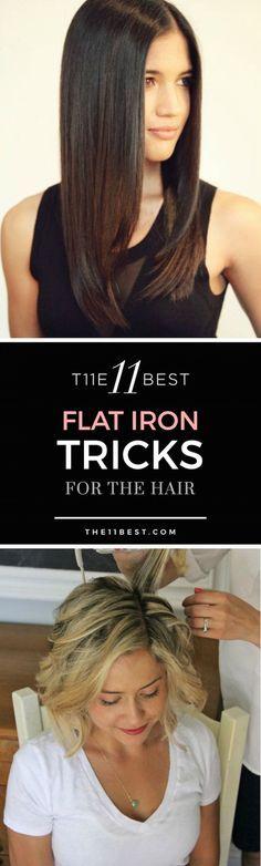 Flat iron tips