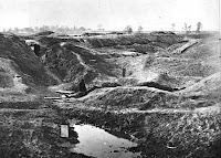 The Battle of the Crater began on July 30th 1864 with a bang.