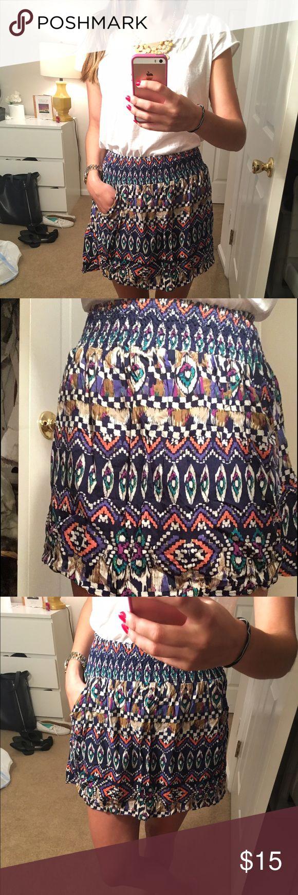 Tribal Print Skirt 45
