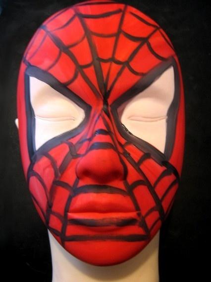 10 Best Images About Spiderman Face Paint On Pinterest