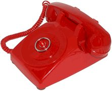 BatPhone!<br>Inspired by the Batman TV show.<br>No-dial red desk phone with flashing light.<br>FREE SHIPPING in the USA.