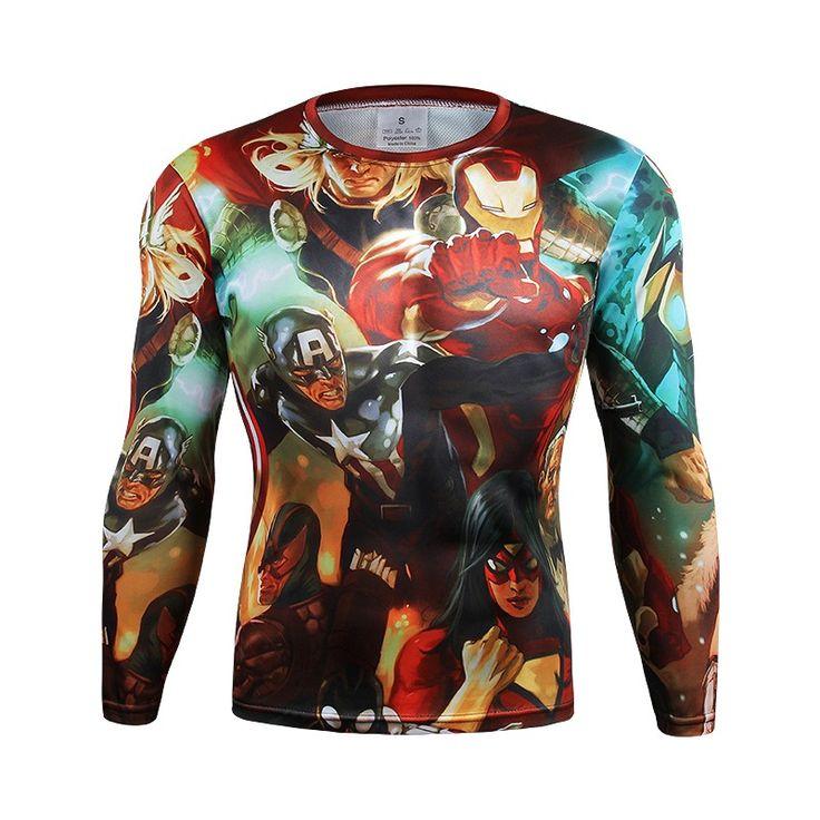 Avengers Long Sleeve T-Shirt //Price: $24.95 & FREE Shipping //
