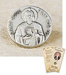 Patron Saint St Jude Help in Difficult Situations Lost Causes Lapel Pin Holy Card Set St Saint Padre Pio of Pietrelcina Lapel Pin Holy Prayer Card Set Saint pin and holy card set.   #amazon #card #card set #holy #holy prayer #holy prayer card #lapel #lapel pin #lapel pin holy #pietrelcina #pietrelcina lapel #pietrelcina lapel pin #pin #pin holy #pin holy prayer #prayer #prayer card #prayer card set #prime #set #Shop