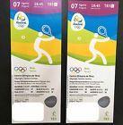 #Ticket  2 Tickets Tennis Centre Court Rio 7.08.2016 TE010 Olympia Olympics #deutschland