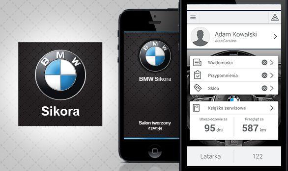 Aplikacja mobilna dla dealera #BMW Sikora. #dealershipapp #automotive #aplikacja