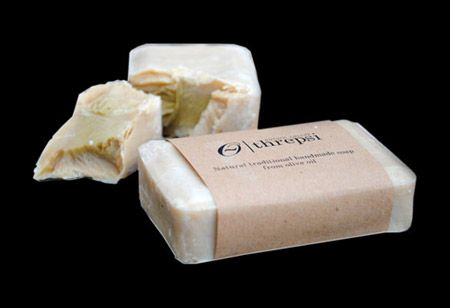 Threpsi - Handmade traditional olive oil soap