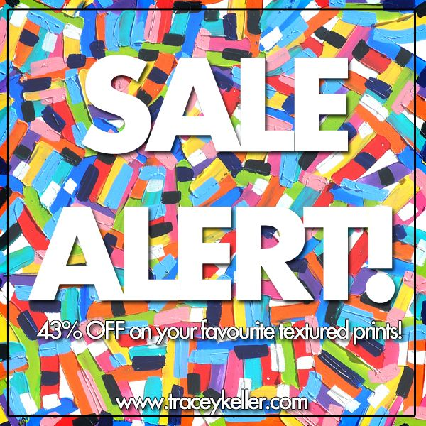 #sale #discount 43%OFF Selected Textured Prints!