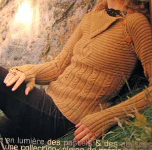 French Knitting Pattern (love it)