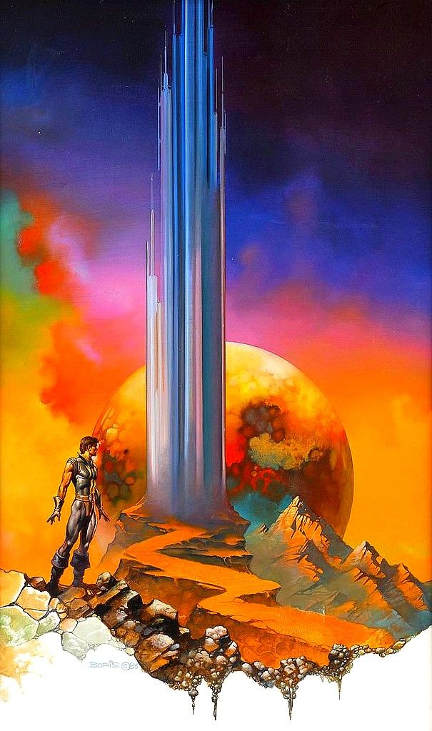 The Alien Within, 1985 // Boris Vallejo