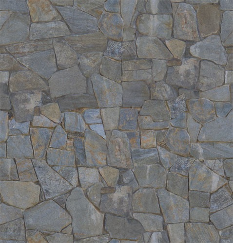 Seamless Stacked Stone Cement Wall 3d Texture Free To