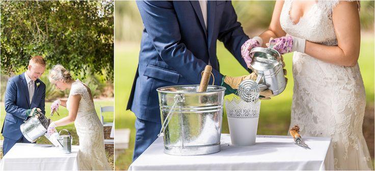 I love this idea! Planting a 'Miracle' tree. Wedding ceremony ideas. Adelaide wedding photography, adelaide botanic gardens, outdoor wedding, summer. www.gpix.com.au