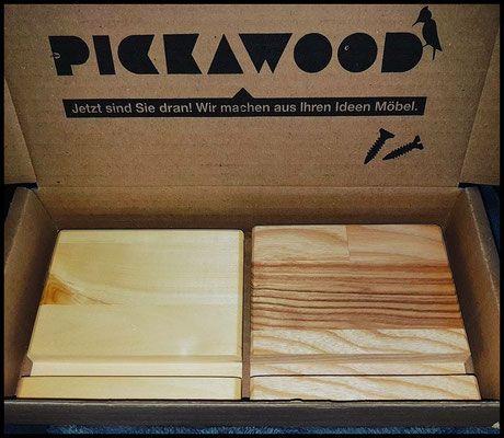 Pickawood - Versuchskaninchen Produkttests