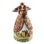Bountiful Angel-Autumn Mini Angel Figurine from  - Jim Shore Store