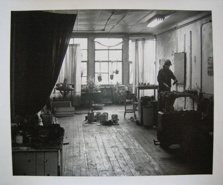 ARTISTS STUDIO LOWER EASTSIDE 1959