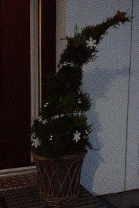 Thuja Fertig geschmückter Baum