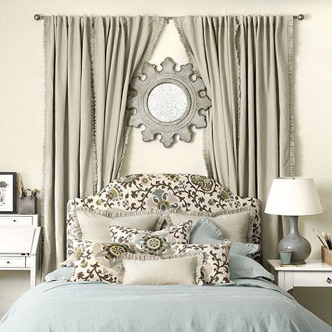 21 best wall behind the bed images on pinterest bedroom - Over the bed decor ...