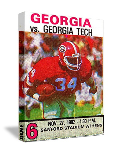 Great Georgia football tickets! The best vintage Georgia football tickets are at http://www.shop.47straightposters.com/Georgia-Football-Tickets-Georgia-and-Georgia-Tech-Tickets_c38.htm