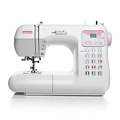 Shop Janome DC4030P Electronic Sewing Machine with Value-Added Package, read customer reviews and more at HSN.com.