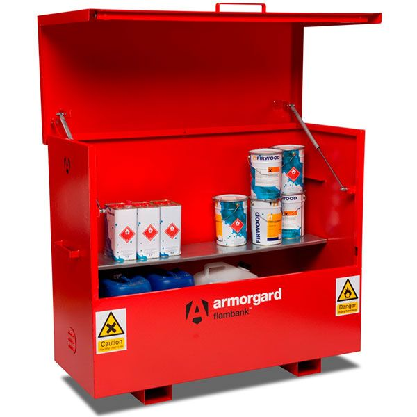 New Small Chemical Storage Cabinet