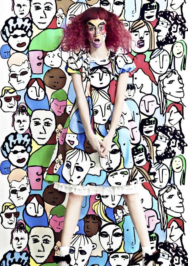 POP ART by Munenari Maegawa, via Behance