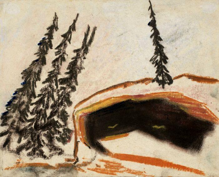 Carl Fredrik Hill, utan titel, 1883-1911