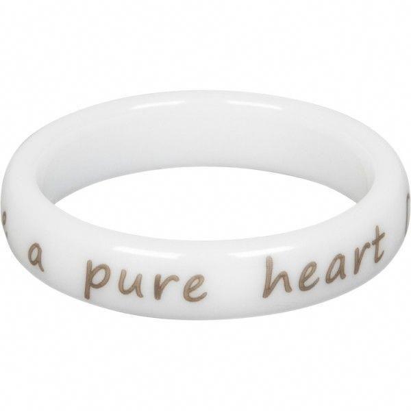 Pure Heart White Ring Purity Rings Rings Cornerstone Jewelry Purityrings Ringe Und Modern